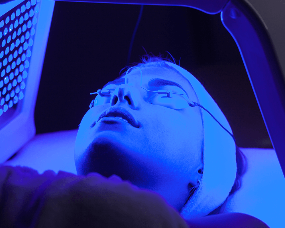 Dermalux Blue Light Phototherapy in Canterbury